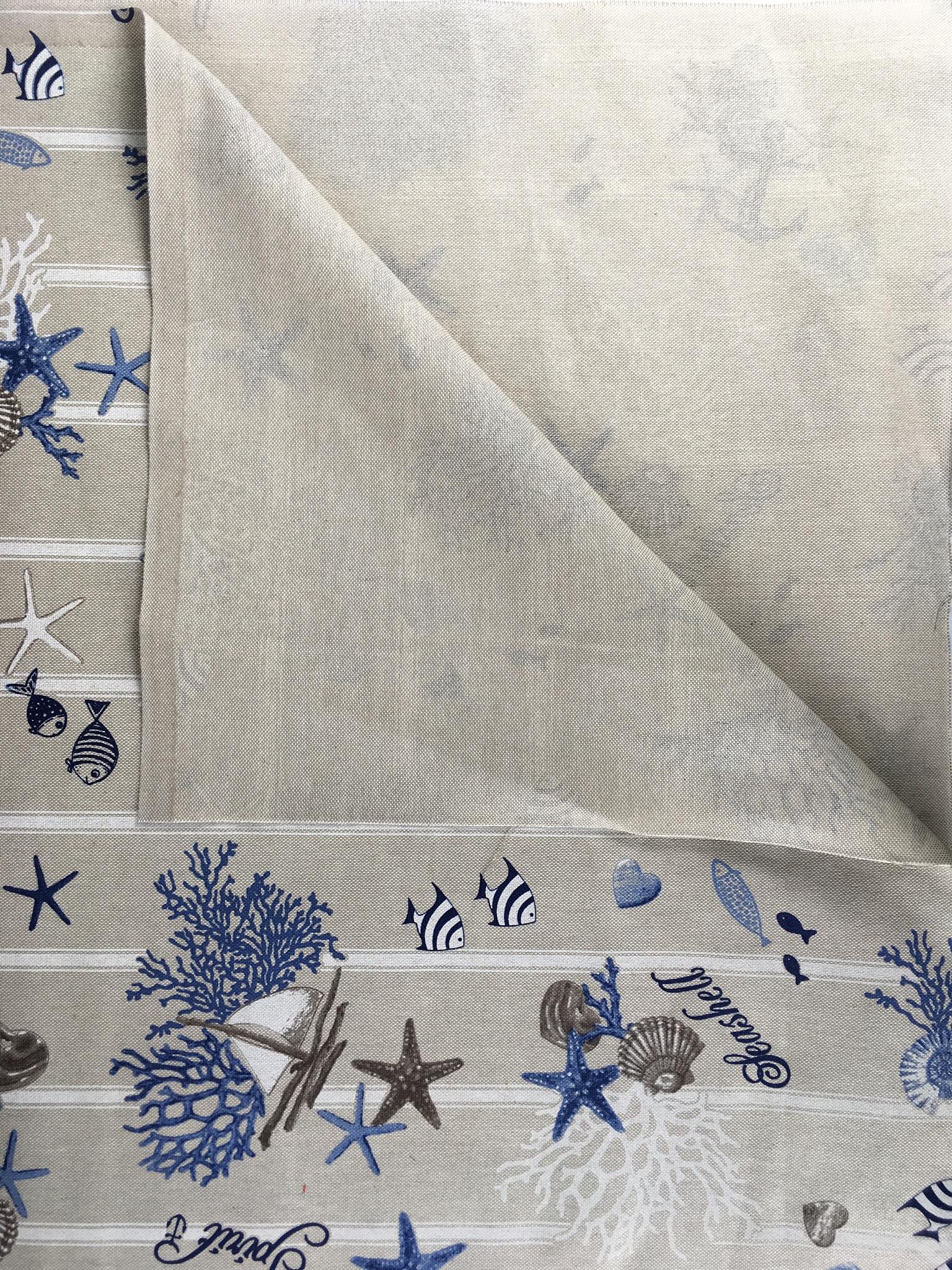 0054cea215 Tessuto stampato mare – Da Giselda – Biancheria per la casa, tessuti ...